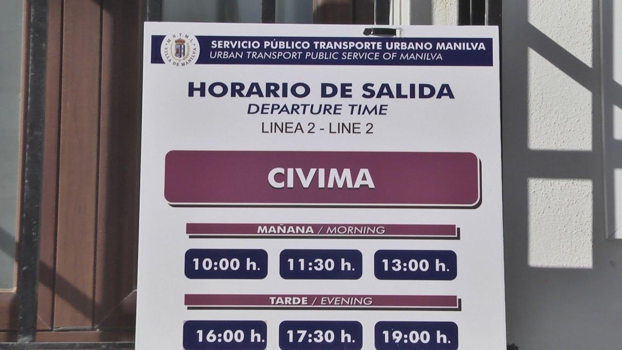 Hasta el 15 de septiembre se mantiene la línea 2 del bus urbano