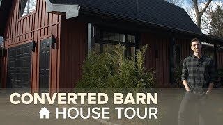 Tour A Wood-Covered Country Home That Used To Be An Old Barn