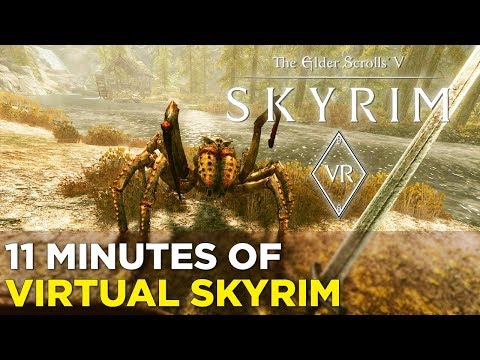 Being a Huge Jerk in SKYRIM VR — 11 Minutes of PSVR Gameplay
