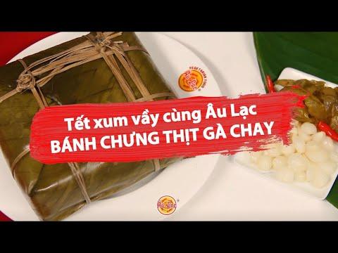 ✅ BÁNH CHƯNG CHAY - Món ngon Au Lac Vegan
