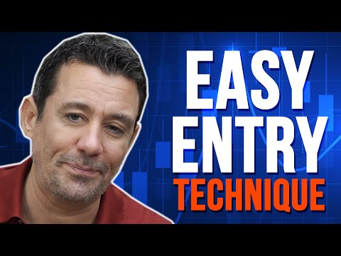 ANYONE CAN TRADE FOREX (A Very EASY Entry Technique)