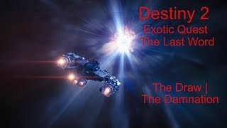 Destiny 2   Forsaken   The Draw   The Damnation   Hunter