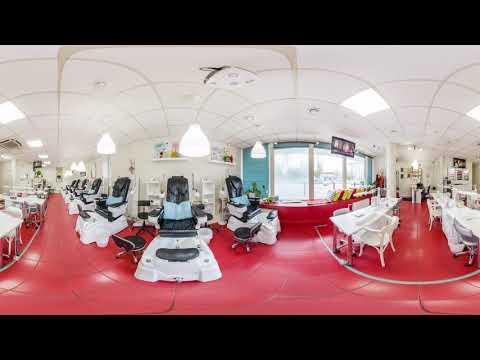 3D Видео обзор маникюрного салона ПАЛЬЧИКИ в Сокольниках