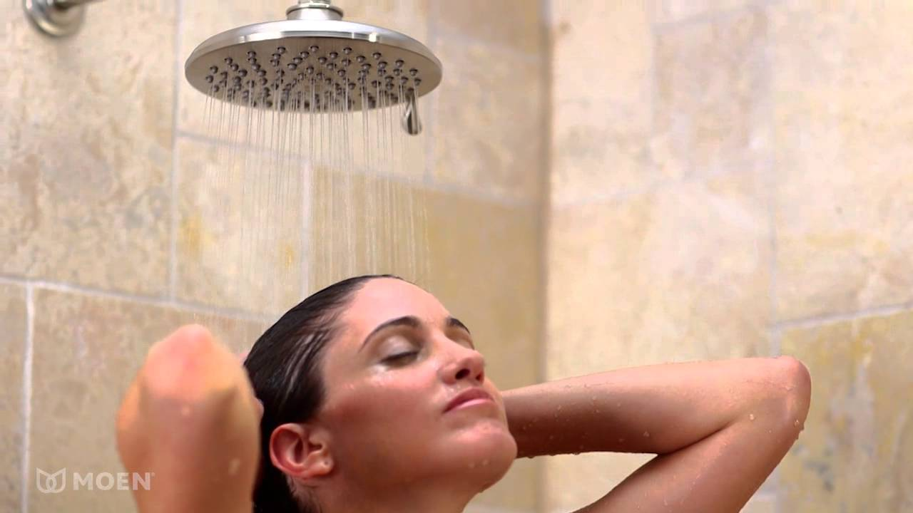 Moen Velocity Showerhead with Immersion Technology