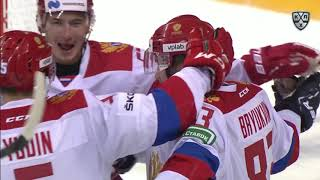 Sochi Hockey Open. Авангард - Сб. России (олимп.) 3:4, 4 августа 2019