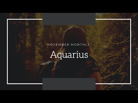 """Aquarius- """"What's going on with them?"""" November Monthly"""