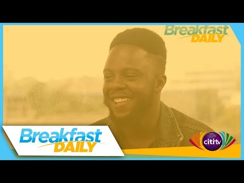 Kyei Mensah performs on Breakfast Daily on Citi TV