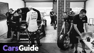 Behind The Scenes With Triple Eight's Drift-spec Red Bull Supercar For Van Gisbergen | Video