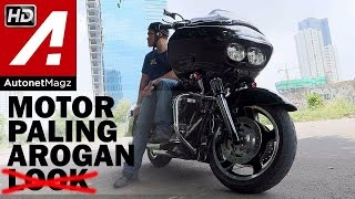 Review Harley Davidson Road Glide Indonesia With RG700 By AutonetMagz
