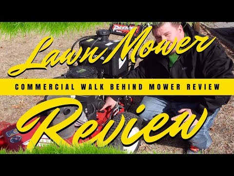Lawn Mower Review | Commercial Hydro Walk Behind Lawn Mower