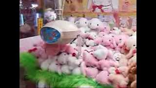 UFOキャッチャーでぽてうさろっぴーをget★playing Crane Game And Got Stuffed Toy Bunnies