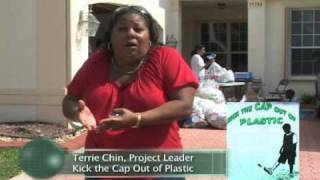 Kick The Cap Out Of Plastic Environmental Project - Aveda