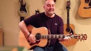 How to play Brown Eyed Girl - Jimmy Buffet (cover) - Easy 4 Chord Guitar Tune