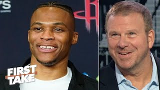 Russell Westbrook is on a different level and will change the Rockets - Tilman Fertitta | First Take