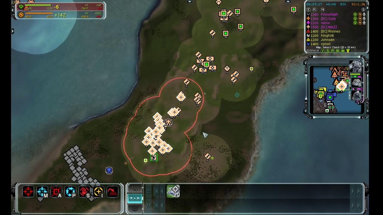 MikZZ online №17 — отбиваю быстрое нападение  командира с пушкой + т1 спам.