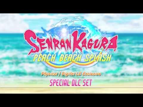 SENRAN KAGURA Peach Beach Splash - Special DLC Trailer thumbnail