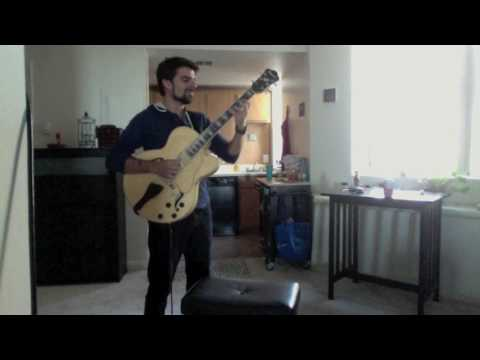 "Solo guitar rendition and improvisation of the Keith Jarrett tune ""Lucky Southern"""