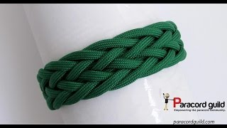 Gaucho Knot Paracord Bracelet- Starting Simple