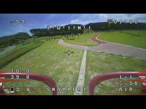 snapper7 FPV Outdoor flight