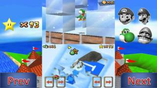 Lets Play Super Mario 64 DS Yoshis Ice Sculpture