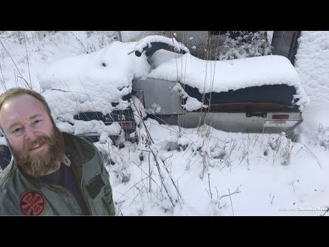 ABANDONED Snowmobile Resurrection Will It Start After 20 Years? 1980 Yamaha Exciter 440