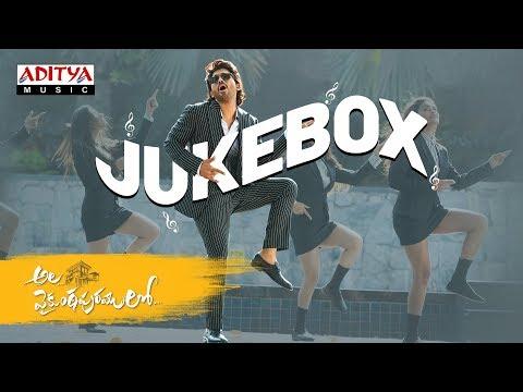 Ala Vaikunthapurramloo telugu movie Full Songs