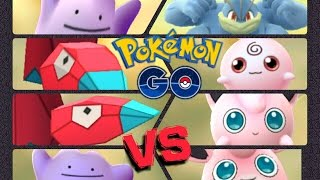 Wigglytuff  - (Pokémon) - Pokémon GO Gym Battles Porygon Ditto Igglybuff Jigglypuff Wigglytuff & more
