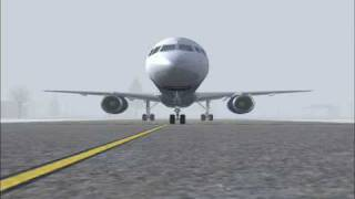 Runway Incursion - United 1448 - Providence, Rhode Island. [December 6, 1999]