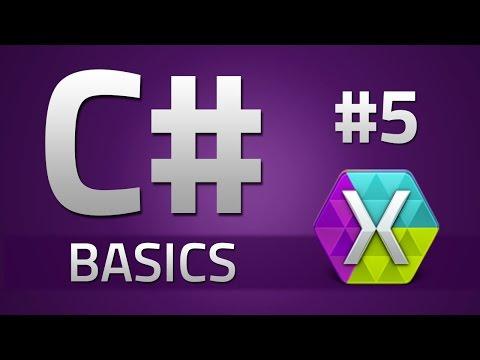 5. How to program in C# - SWITCH STATEMENTS - Beginner Tutorial