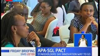 APA-SGL Pact:Stakeholders say innovation way to go