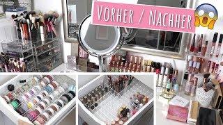MAKEUP SAMMLUNG NEU ORGANISIEREN / UMRÄUMEN | Makeup Aufbewahrungen