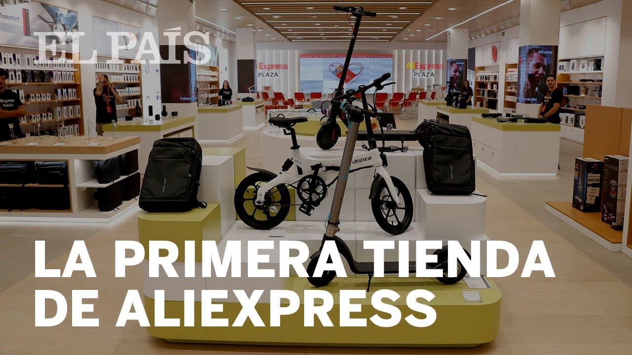 AliExpress já tem uma loja na Espanha, Desfrute de suas ofertas