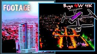 Drone bugs 4w4k footage.