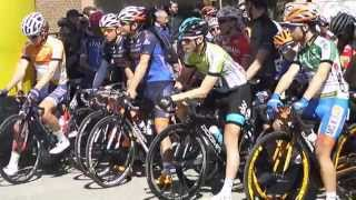 preview picture of video 'Coppi e Bartali 2015, la partenza della tappa Calderara-Crevalcore'
