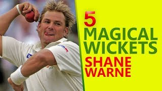 5 Magical Wickets of Shane Warne