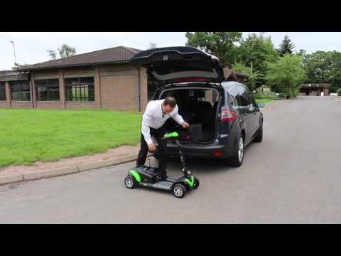 How to get a TGA Zest mobility scooter into the boot of a car YouTube video thumbnail