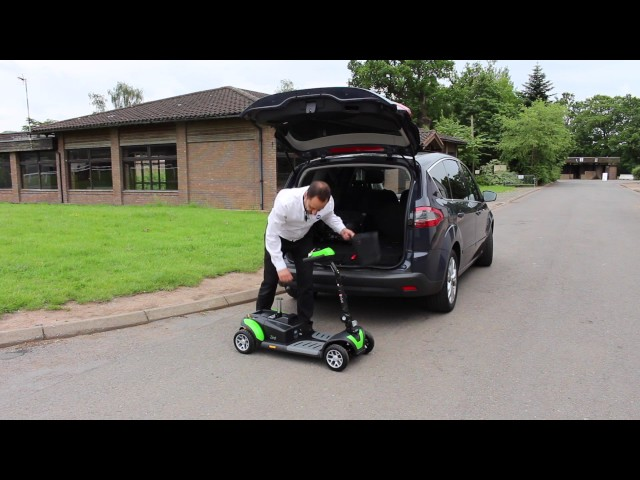 TGA Zest Mobility Scooter Video