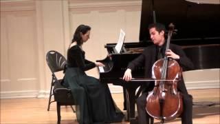 Prayer By Ernest Bloch - Michael Katz, Cello & Renana Guttman, Piano