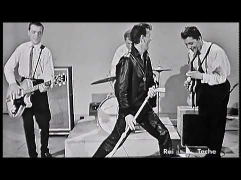 Gene Vincent - Blue Jean Bop (Italy, 1960) - HD