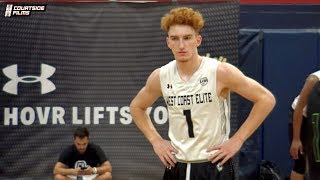 Nico Mannion Last AAU Tournament! Full Highlights From UA Finals!