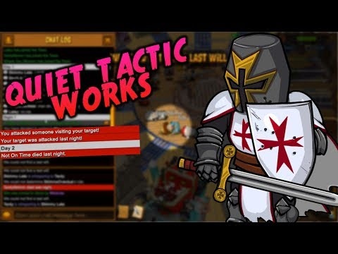 QUIET TACTIC WORKS   Town of Salem Coven Ranked Practice - Crusader