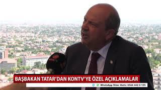 KKTC Başbakanı Tatar'dan KONTV'ye özel açıklamalar