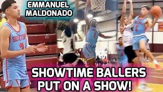 Emmanuel Maldonado & Showtime Ballers Get DISRESPECTFUL! Nasty Posters & A Whole Lotta BUCKETS 🔥