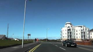 preview picture of video 'Driving On The Serpentine South, Serpentine & Burbo Bank Road North, Blundellsands, Sefton, UK'