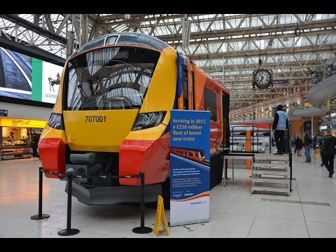 Brand new South West Trains Class 707 demonstrator at London…