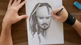 Jack Sparrow Speed Drawing