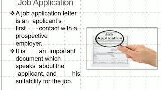 Writing Skills- CV and Job Application Writing