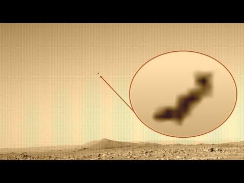 Is dit een UFO gefotografeerd door Perseverance Mars Rover