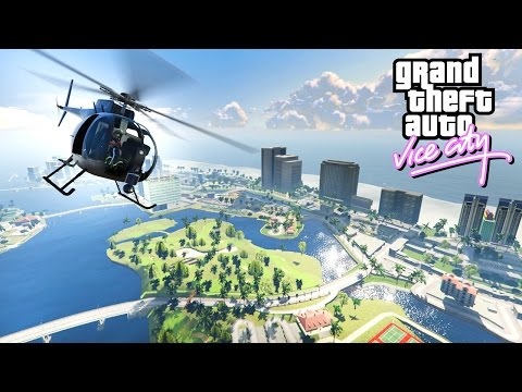 GTA 5 VICE CITY MOD!
