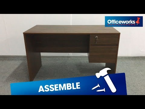Coventry Desk Assembly Instructions
